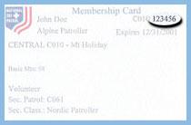 NSP Membership Card
