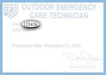 NSP Membership Card.